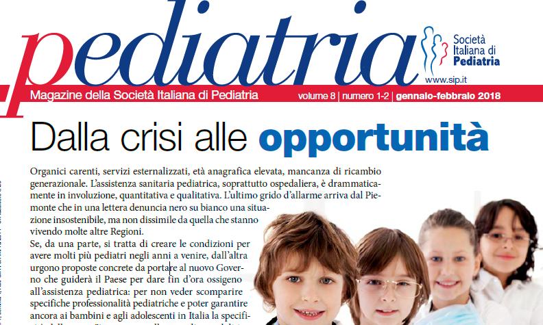 Pediatria, numero 1-2 (2018): dalla crisi alle opportunità