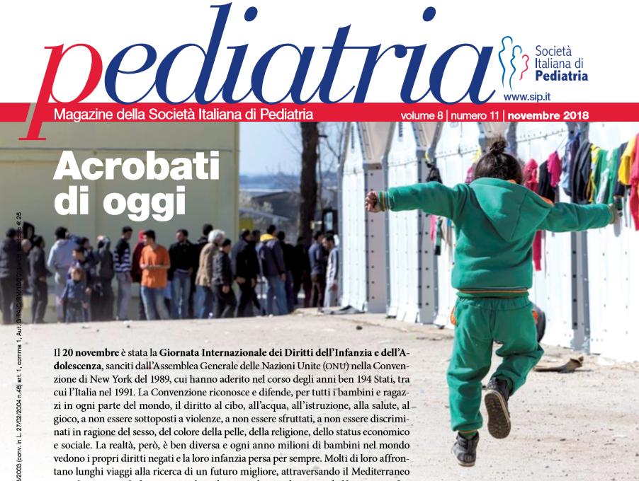 Pediatria, numero 11 (2018): Acrobati di oggi