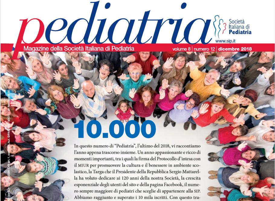 Pediatria, numero 12 (2018): 10.000