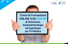 Corso SIGENP di Nutrizione, Gastroenterologia ed Epatologia per il Pediatra