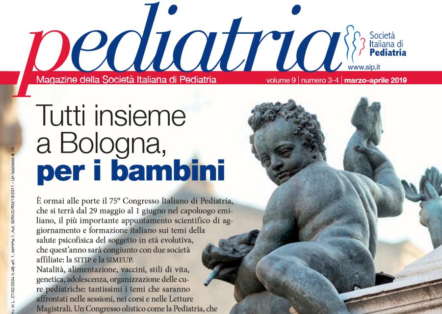 Pediatria, numero 3-4 (2019): Tutti insieme a Bologna, per i bambini