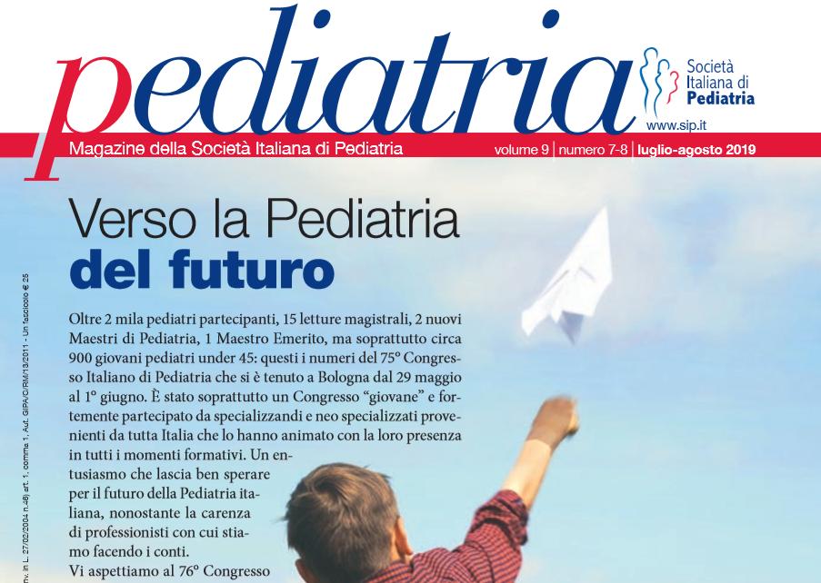 Pediatria, numero 7-8 (2019): Verso la Pediatria del futuro
