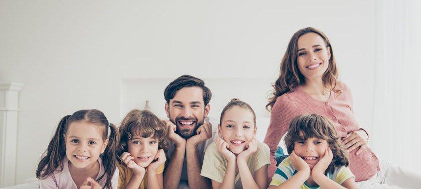 Pediatri con 5 figli