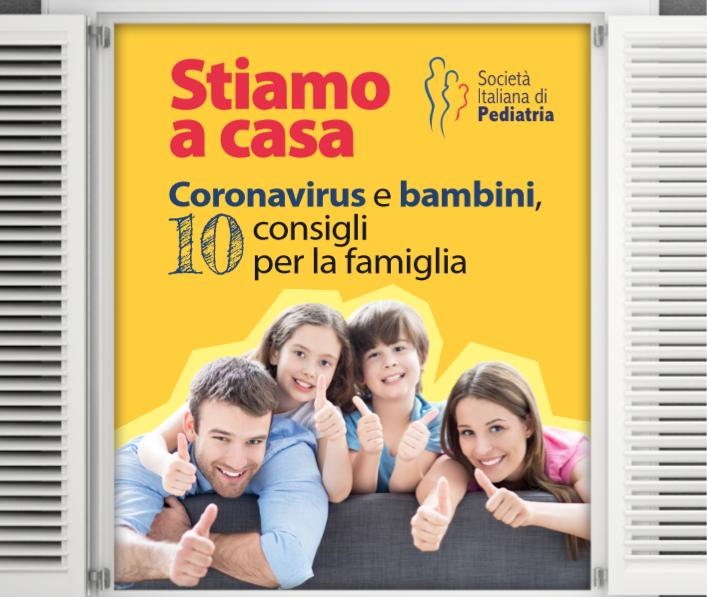 Stiamo a casa.Coronavirus e bambini, 10 consigli per la famiglia