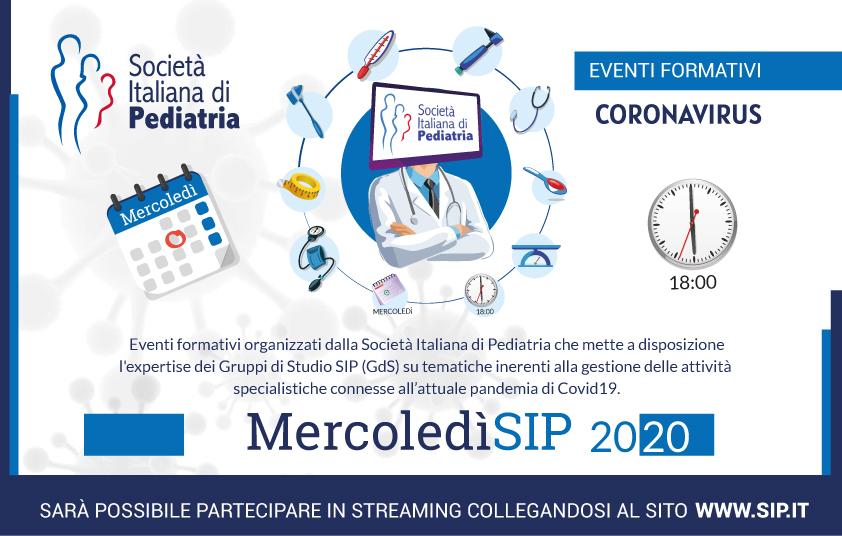 """Oggi, 3 giugno, secondo appuntamento con i webinar """"MercolediSIP"""""""
